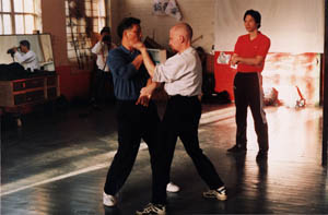 Sifu Paul O'Neal and Sigung Yip Ching at Wing Chun Seminar