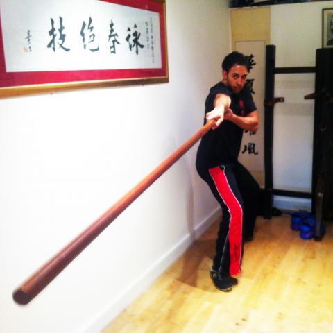 Private 1on1 Wing Chun Lesson With Sifu Paul O'Neal