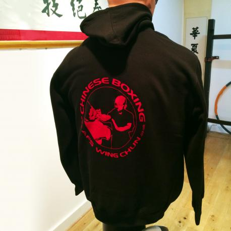 Shop for AFS Ving Tsun Kung Fu Black Hooded Jogging Top
