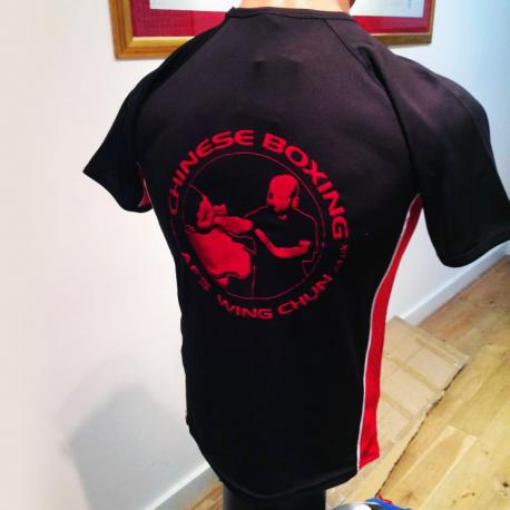 AFS Wing Chun Kung Fu Dry-Fit Shirt With High Quality Printing