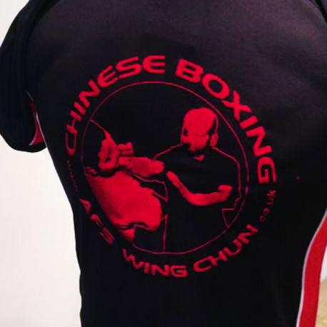 Back print of Ving Tsun Tee Shirt / Official AFS Wing Chun Club Wear